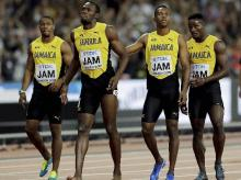 Usain Bolt, injured, World Athletics Championships