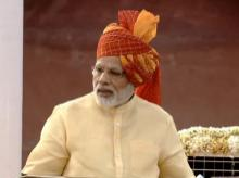 PM Narendra Modi addresses the nation from Red Fort on 71st Independence Day