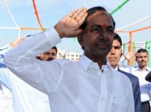 K Chandrashekar Rao, Telangana