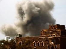 airstrikes, air raid, raids, Yemen, Sanaa