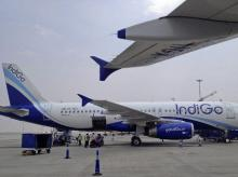 Buy Interglobe Aviation only on a correction, say analysts