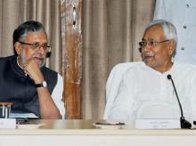 Sushil Modi, Nitish Kumar