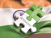 Statsguru: India's economy grew at 6.6% in FY18, down from 8.2% in FY16