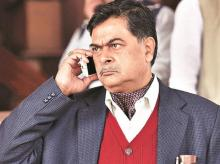 Former IAS officer R K Singh joined the BJP after retiring in 2013