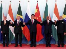 BRICS 2017, Brazil, Russia, India, China, South Africa