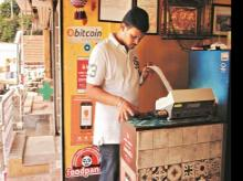 Bengaluru's Suryawanshi restaurant, which accepts bitcoin as a form of payment