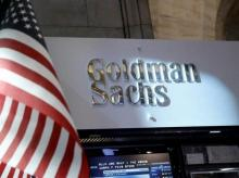 A view of the Goldman Sachs stall on the floor of the New York Stock Exchange in New York (Photo: Reuters)