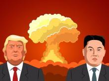 Kim Jong-un, Donald Trump, North Korea, US