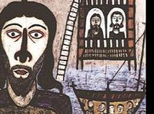 Portrait of Christ-I, by Madhvi Parekh