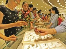 Jewellers are putting their best foot forward to lure consumers with unique designs and offers