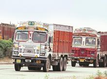 Trucks, goods
