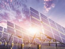 Solar panel. solar power