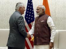 Narendra Modi, Rex Tillerson, India, US