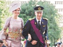 King Philippe, Queen Mathilde, Belgium