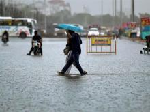 Chennai rains today; Traffic, flight delays to cause trouble, schools shut
