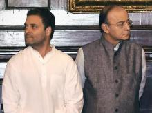 Arun Jaitley, Rahul Gandhi