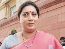 "Small businessmen and traders in Surat are ready to embrace GST, but Congress leaders are trying to incite them against the BJP government in Gujarat, which  goes to polls next month"", SMRITI IRANI, Union textiles minister"