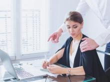 workplace harassment, office harassment, sexual assault