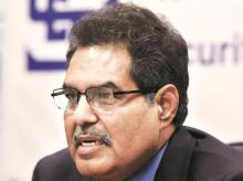Ajay Tyagi, chairman, Sebi