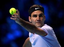 Roger Federer has a win rate of 80.6 indoors. Photo: Reuters