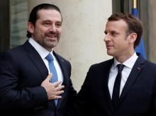 Emmanuel Macron, Saad al-Hariri