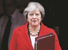 British PM Theresa May, Theresa May