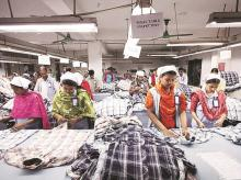 Textile, clothing, women working, working women
