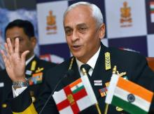 Admiral Sunil Lanba. Photo: PTI