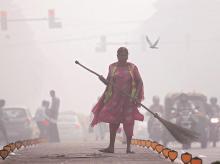 Delhi pollution, delhi smog, air pollution