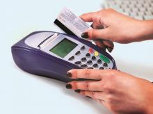 Pos machine, Debit Card transactions