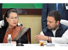 Rahul Gandhi, Sonia Gandhi, CWC Meeting