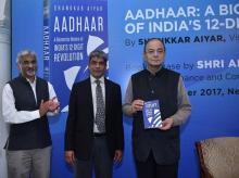 Aadhaar, Arun Jaitley, Aadhaar book launch, Aadhaar privacy, Jaitley on Aadhaar, Aadhaar linking, Aadhaar news, Aadhaar privacy framework, Jaitley, right to privacy