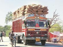 trucks, vehicle, goods, e-way bill