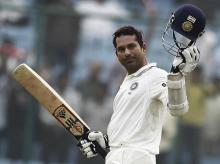 On the list of players who have played at least 14 Test matches, Sachin Tendulkar ranks 22nd on averages. Photo: Reuters