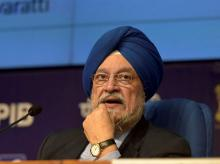 Union minister Hardeep Singh Puri | Photo: PTi
