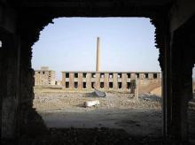 ruins, atomic city, china