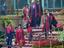 Chief guests and heads of states of Governments of ASEAN nations