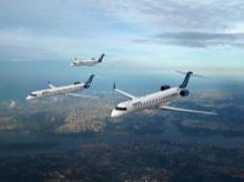 CRJ Series jets
