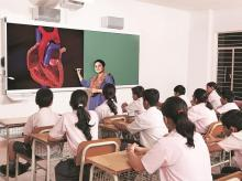 digital India, education, classroom, teacher, students