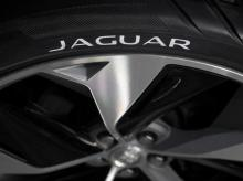 A tyre is seen on Jaguar Land Rover's I-PACE concept car on display ahead of it's 2018 production launch as Jaguar's first fully electric SUV at their 'Tech Fest' in London | Reuters