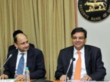 RBI Deputy Governor Viral V Acharya with RBI Governor Urjit Patel | Photo: Kamlesh Pednekar