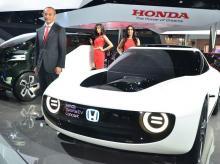 Honda, Yoichiro Ueno, auto expo