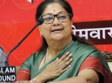 File photo of Rajasthan CM Vasundhara Raje | Photo: PTI