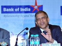 Dinabandhu Mohapatra, Bank of India
