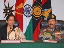 Sunjuwan Army camp attack,Nirmala Sitharaman, defence minister, Indian soldiers, terror attack, Jammu and Kashmir,Jaish-e-Muhammad,Pakistan,Chief Minister Mehbooba Mufti