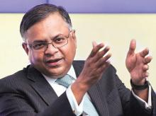 N Chandrasekaran, chairman of Tata Sons