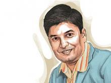 Vipul Ambani. Illustration: Ajay Mohanty
