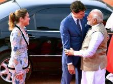 Narendra Modi, Justin Trudeau