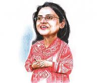 Rukmini Banerji. Illustration: Binay Sinha