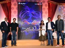 Aladdin, Disney, Disney India, Bookmyshow, Paypal, The Beauty and The Beast, National Centre for the Performing Arts, NCPA, Disney's Aladdin, Tony Award, Oscar Award, Oscar, Roshan Abbas, Vikrant Chaturvedi, Deven Khote, RJ Mantra